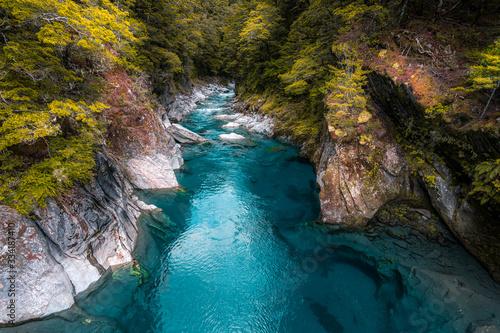 Hokitika Gorge,South Island, New Zealand Fototapet