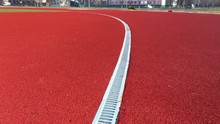 Roll Cover For Running. Treadmill Rubber Coating. Soft Coating In The Stadium. Seamless Rubber Coating Of Crumb Rubber.