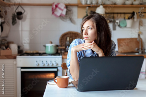 Cuadros en Lienzo Working from home office