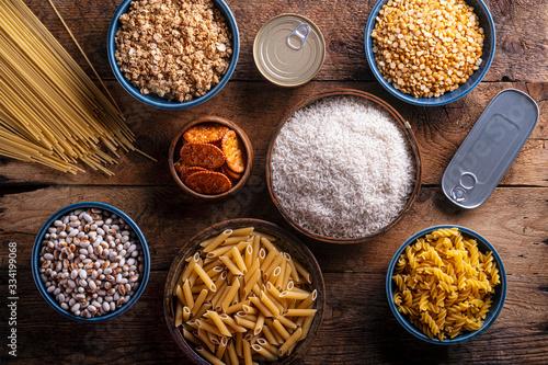 Fotomural Pantry Ingredients