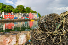 Lobster Trap In The Harbor Of ...