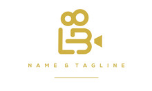 Alphabet Letter Icon Logo LB I...