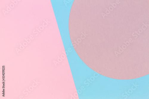 Tapety Geometryczne  streszczenie-kolor-tla-papieru-pastelowy-rozowy-i-jasnoniebieski-kolor-okraglej-geometrii-ksztaltu-kola-circle