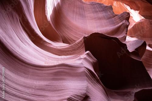 Navajo sandstone in Antelope Canyon Arizona