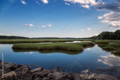 Fototapeta A Wonderful Summer's Afternoon in Gloucester Massachusetts