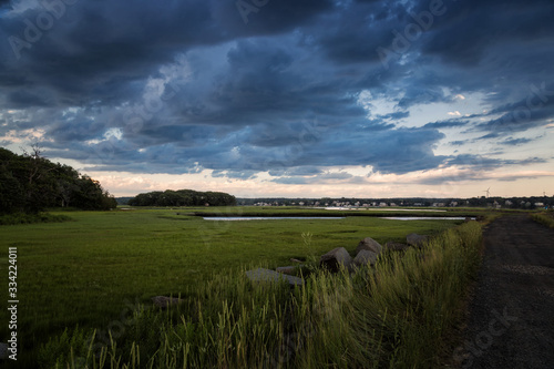 Fotografia, Obraz A Wonderful Summer's Afternoon in Gloucester Massachusetts