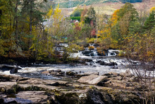 Falls Of Dochart At Killin