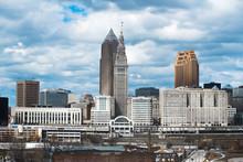 City Of Cleveland Cityscape