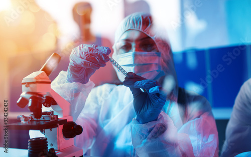 Photographie Medical science laboratory