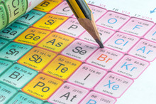 Pencil And Periodic Table Clos...