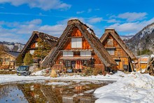 Beautiful Village With Gassho-...