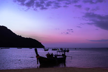 Fishing Boat In Thailand With ...