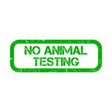 No Animal Testing Watermark St...