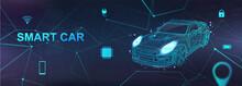 Smart Car, Hologram Auto With ...
