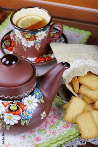 Fotografia, Obraz Te con biscotti