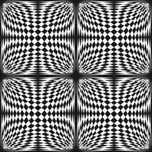 Vector Abstract Checkered Seam...