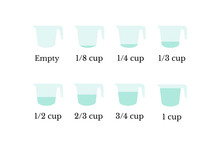 Kitchen Measuring Cups With Va...