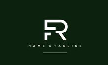Alphabet Letter Icon Logo FR