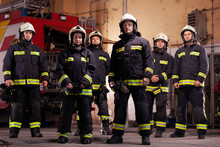Six Professional Firefighters ...