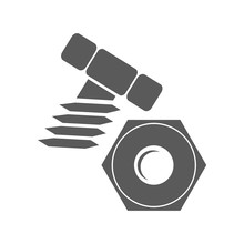 Bolt And Nut Logo
