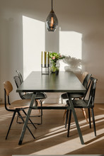 Dining Table In A Modern Desig...