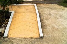 Concrete Ramp Way For Wheelcha...