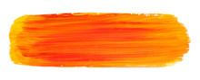 Vector Orange Paint Texture Is...