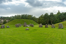 Old Burial Ground In Sweden Wi...