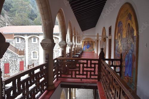 Klasztor Kykkos w górach Troodos Cypr Fototapet