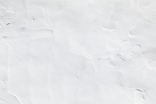 White Plaster Background With ...