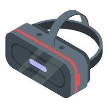 Stereoscopic Game Goggles Icon...