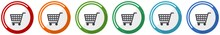 Shopping Cart Icon Set, Shop, ...