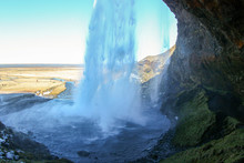 High Spectacular Waterfall In ...