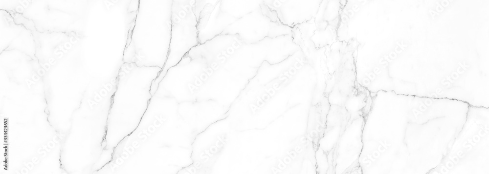 Fototapeta high resolution white Carrara marble stone texture