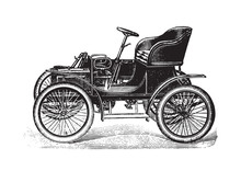 Old Vehicle / Vintage Illustra...