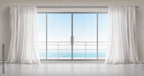 Fototapety do sypialni  okno-z-widokiem