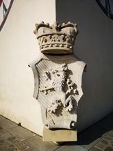 Altes Stadtwappen Graz Uhrturm, Schlossberg