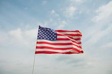 Patriotic USA Background With ...