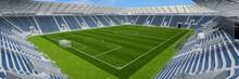 Leeres Fußballstadion Wegen C...