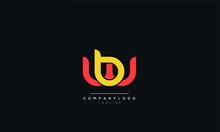 Wb Bw W B Letter Logo Alphabet...