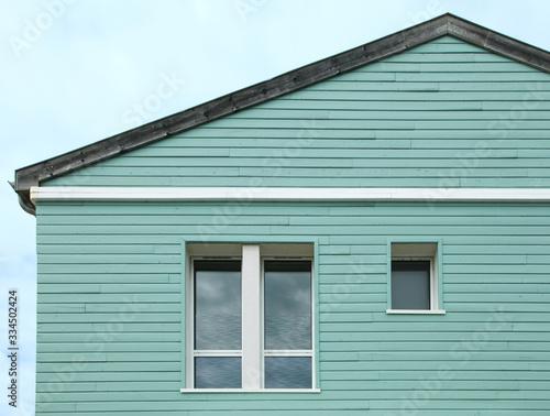 Valokuvatapetti Bardage extérieur d'une maison