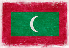 Maldives Flag, Maldives, Maldi...