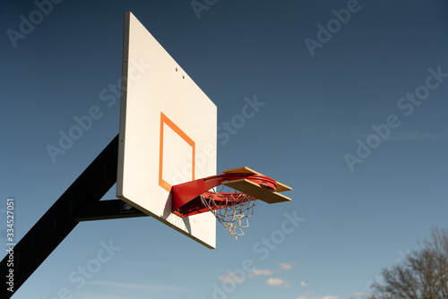 Basketball Court Quarantined Canvas Print