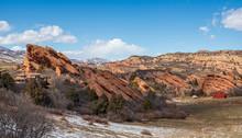 Beautiful Rock Formation Near Chatfield State Park, Colorado
