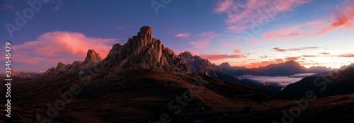Fototapeta Dolomites sunrise obraz