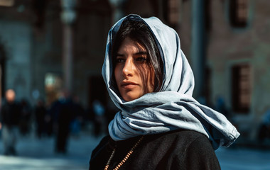 Attractive arabian woman