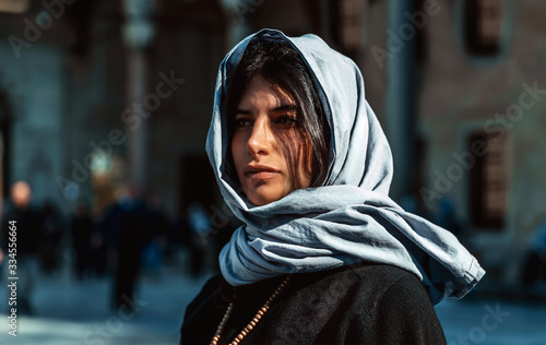 Photo Attractive arabian woman