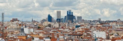 Fotografía Madrid rooftop view
