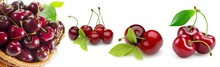 Cherry, Fruit, Food, Red, Swee...