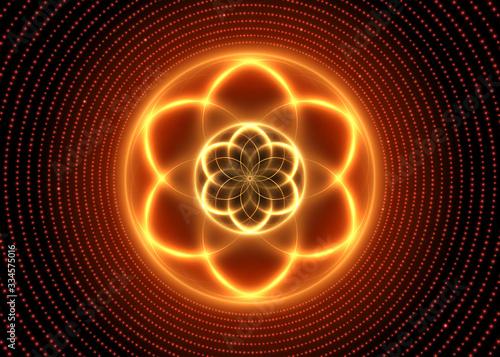 swieta-geometria-swiecace-abstrakcyjne-tlo